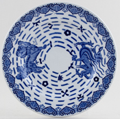 Spode Burns Plate c1950s