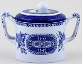 Spode Fitzhugh Sugar with Cover c1960s