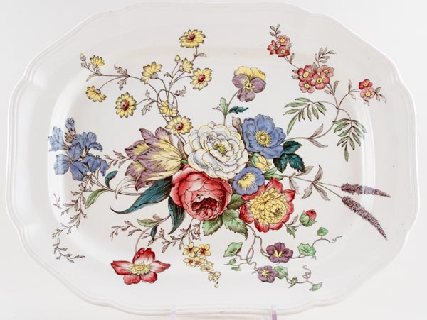 Spode Gainsborough colour Meat Dish or Platter c1950s