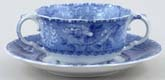 Spode Camilla Cup Two Handled and Saucer c1930s