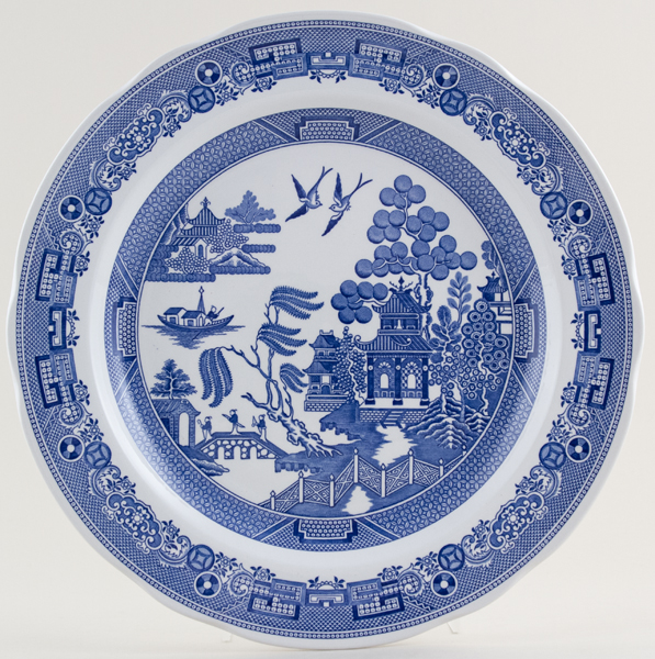Spode Blue Room Plate Willow c2004