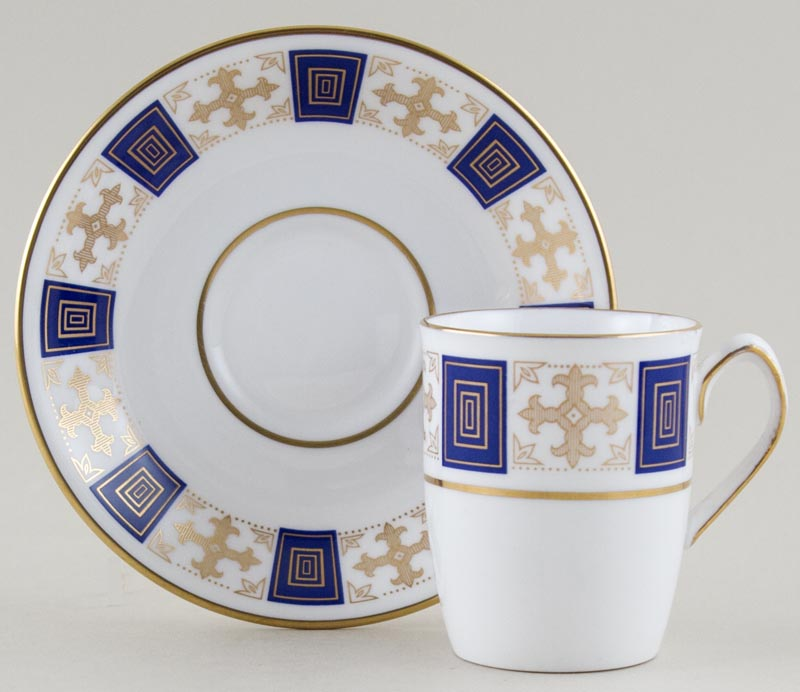 Spode Persia Coffee Cup and Saucer c1960s