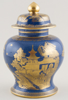 Vase covered c1917
