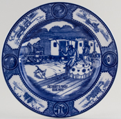 Plate First Railway c1947