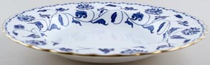 Spode Blue Colonel Dessert or Small Soup Plate c1960