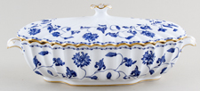 Spode Blue Colonel Covered Vegetable Dish c1960