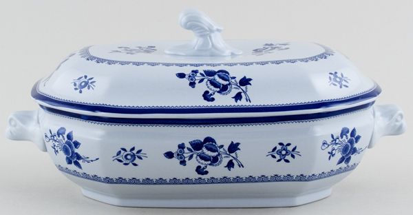 Spode Gloucester Vegetable Dish with Cover c1980