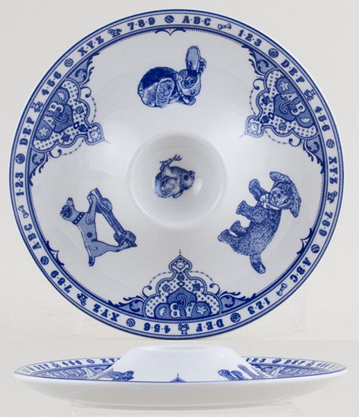 Spode Edwardian Childhood Egg Plate c1994