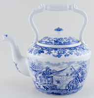Spode Signature Collection Kettle Rural Scenes c2002