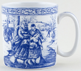Spode Blue Room Mug Christmas c1996