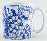 Spode Blue Room Mug Grapes c2000
