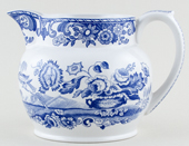 Spode Blue Room Jug or Pitcher Flower Vase c2002