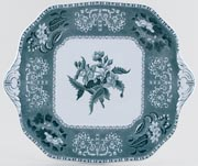 Spode Camilla green Bread and Butter Plate c1987