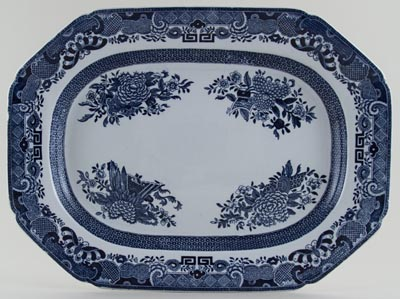 Spode Trophies Meat Dish or platter c1890