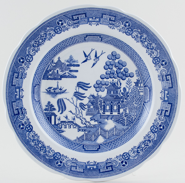 Spode Blue Room Plate Willow c1995