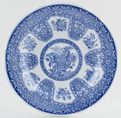 Spode Blue Room Plate Filigree c1995