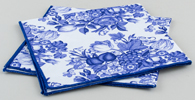Spode Unidentified Pattern Napkins pair of c2000