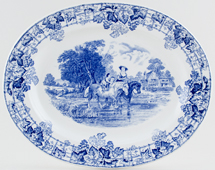 Meat Dish or Platter c1940