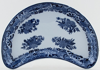 Spode Trophies Crescent Side Dish c1894