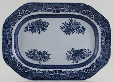 Spode Trophies Meat Dish or Platter c1901