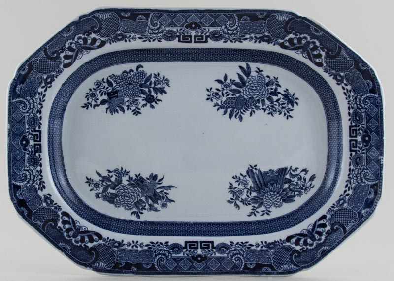 Spode Trophies Meat Dish or Platter c1902