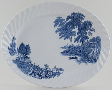 Swinnertons The Ferry Meat Dish or Platter c1950s