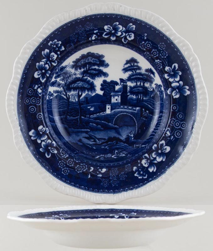 Spode Tower Soup Plate c1924