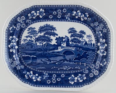 Spode Tower Meat Dish or Platter c1962