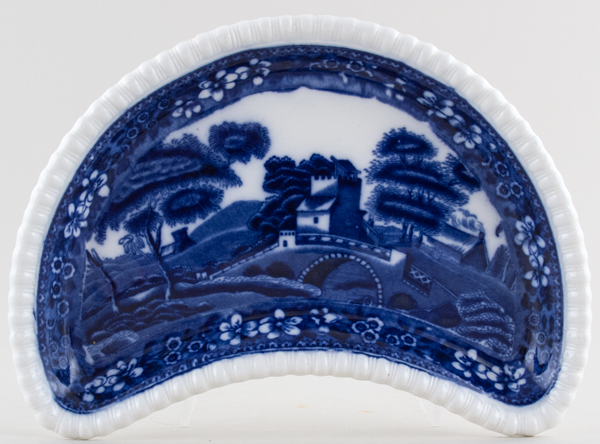 Spode Tower Crescent Side Dish c1899