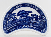 Spode Tower Crescent Side Dish c1930s