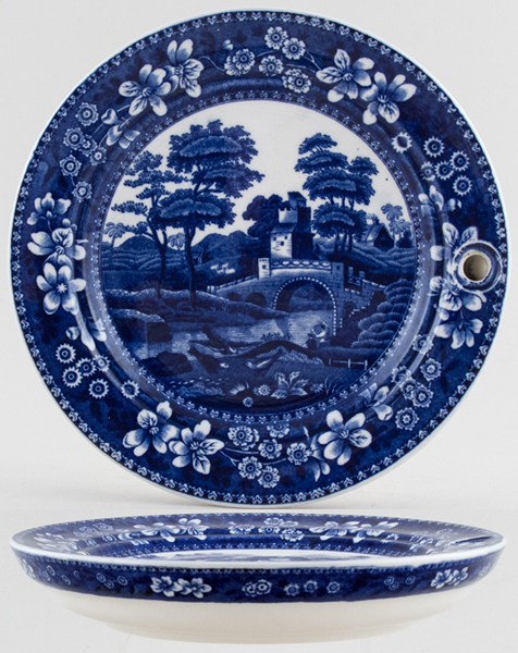 Spode Tower Warming Dish c1930s