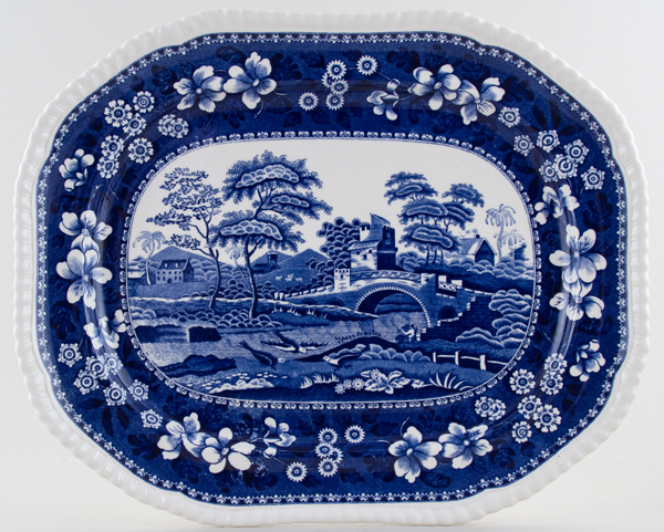 Spode Tower Meat Dish or Platter c2005