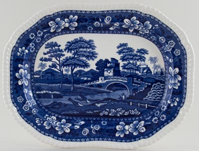 Spode Tower Meat Dish or Platter c1960/70s