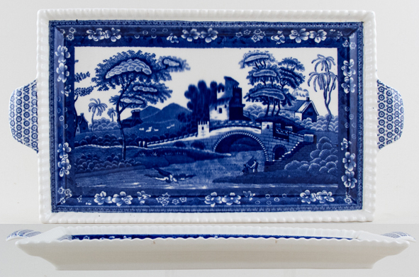 Spode Tower Tray c1950s