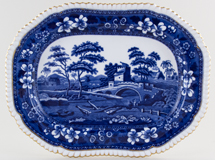 Spode Tower Meat Dish or Platter c1895