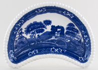 Spode Tower Crescent Side Dish c1906