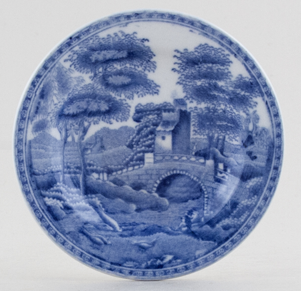 Spode Tower Plate Toy c1920s