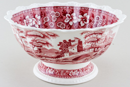 Footed bowl large c1950s