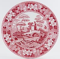 Spode Tower pink Serving Platter c1980