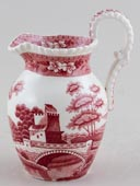 Spode Tower pink Jug or Creamer c1950s