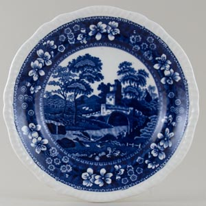Spode Tower Plate c1914