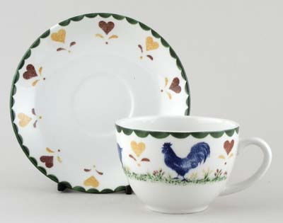 Woods Jacks Farm colour Teacup and Saucer