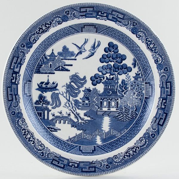 Wedgwood Willow Plate c1960s