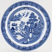 Wedgwood Willow Plate c1920s