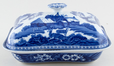 Wedgwood Fallow Deer Vegetable Dish with Cover c1916