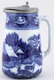 Jug or Pitcher Hot Water c1922