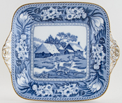 Wedgwood Fallow Deer Bread and Butter Plate c1910