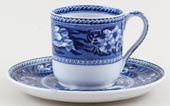 Wedgwood Fallow Deer Coffee Cup and Saucer c1924