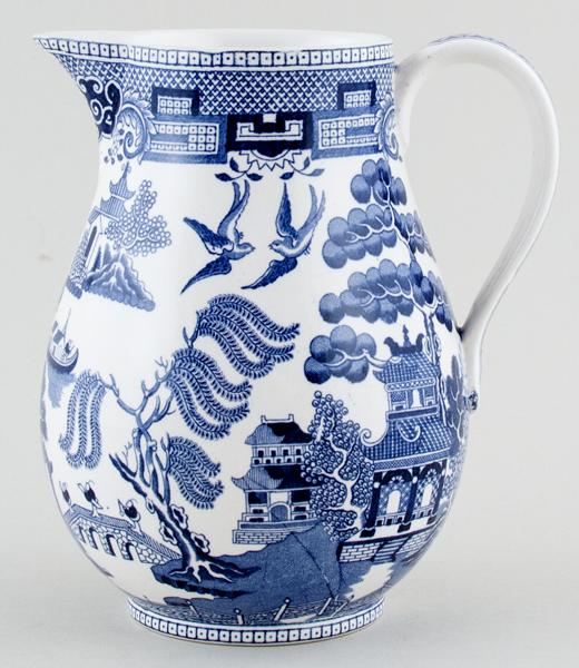 Wedgwood Willow Jug or Pitcher c1930s