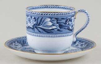 Wedgwood Fallow Deer Teacup and Saucer c1920